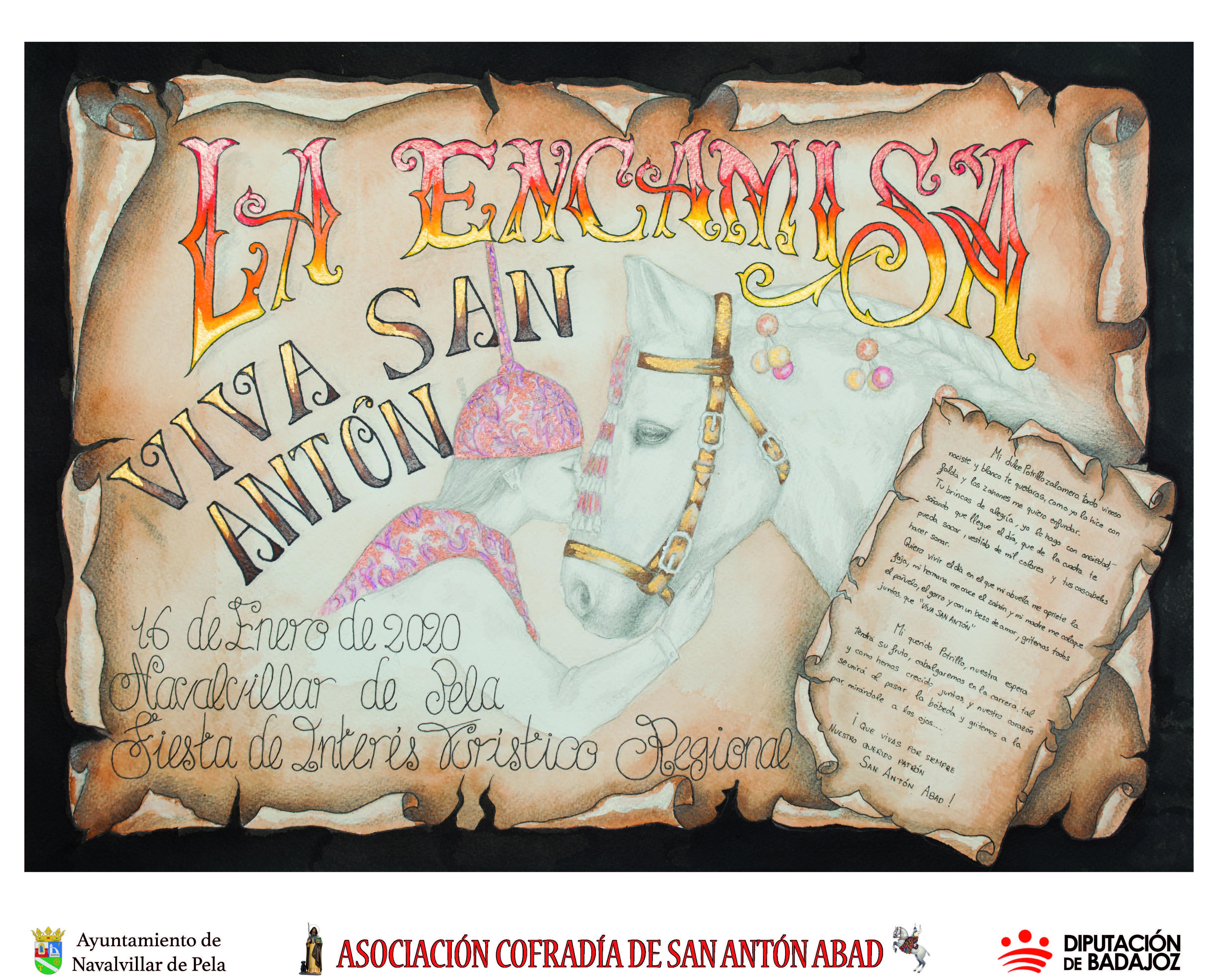 Cartel San Antón 2020