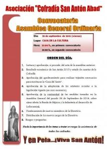 asamblea general ordinaria septiembre 2015