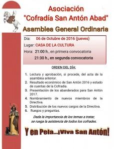 Asambea general ordinaria 2016